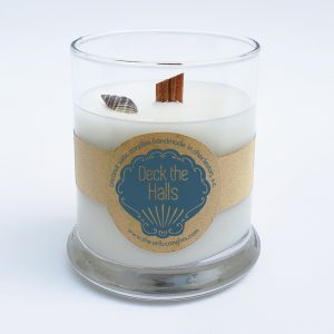 Deck the Halls Holiday Scented Candle - Fir, Orange Spice & Cinnamon
