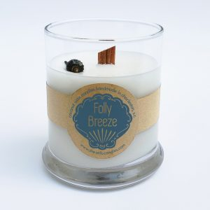 Scented Candle - Fresh Ocean Air with a Side of Relaxation