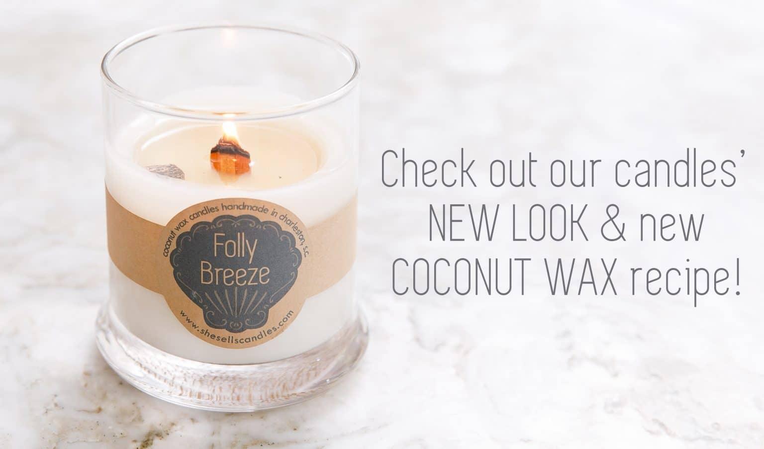 shop coconut wax candles